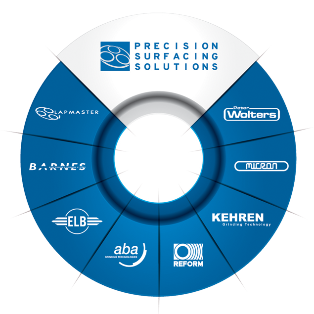 Precision Surfacing Solutions Brand Wheel